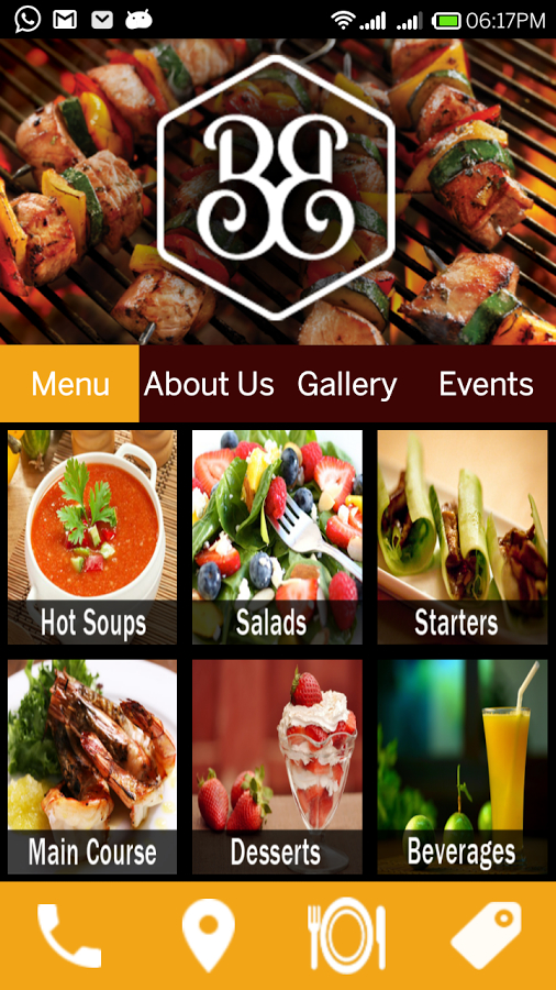 BBQ Bistro Andriod Apps