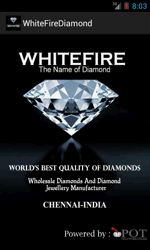 WhiteFire Diamonds Andriod Apps