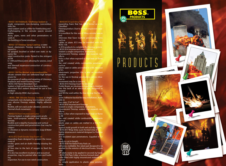 Boss Products Brochure